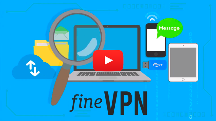Free VPN. No traffic or speed limits. FineVPN